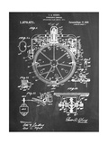 Compass Patent 1918 Stampa