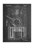 World War II Military Tank Patent Plakaty