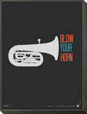Blow Your Horn Poster Framed Print Mount by  NaxArt