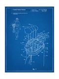 Golf Walking Bag Patent Golf Patent Prints