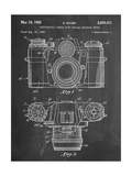 Photographic Camera Patent Póster