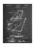 Beach Chair Patent Giclee Print