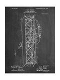 Wright Brother's Flying Machine Patent Giclee Print