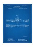 Submarine Vessel Patent Plakát