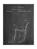 Artificail Leg Patent 1846 Prints