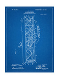 Wright Brother's Flying Machine Patent Poster