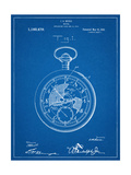 Pocket Watch Patent Prints