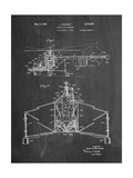 Sikorsky Helicopter Patent Print