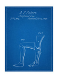 Artificail Leg Patent 1846 Pósters