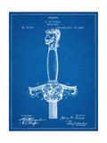 Sword Patent Hilt Giclee Print
