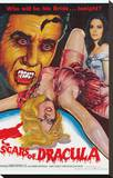 Scars of Dracula Stretched Canvas Print