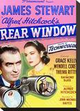 Rear Window Stretched Canvas Print
