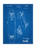 Vintage Skateboard Patent Giclee Print