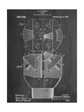 Howard Hughes Drill, Oil Drill Patent Giclee Print