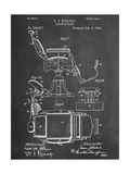 Barber's Chair Patent Prints