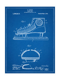 Hockey Shoe Patent Poster