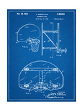 Basketball Goal Patent Posters