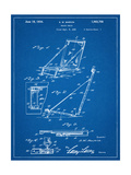 Beach Chair Patent Poster