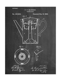 Vintage Coffee Pot Patent Posters