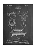 Football Pads Patent Posters