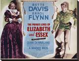 The Private Lives of Elizabeth and Essex Stretched Canvas Print