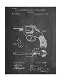 Revolving Firearm Patent Posters