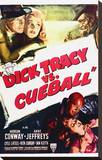 Dick Tracy Vs. Cueball Stretched Canvas Print