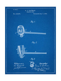 Tobacco Pipe 1890 Patent Prints
