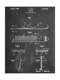 Early Snowboard Patent Prints