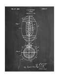 Football Patent 1923 Poster
