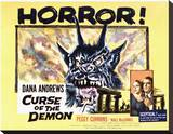 Curse of the Demon Stretched Canvas Print