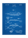 Fishing Lure Patent Posters
