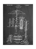 Vintage Beach Umbrella 1937 Patent Prints