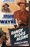 Randy Rides Alone Stretched Canvas Print