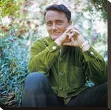 Robert Vaughn Stretched Canvas Print