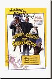 Bud Abbott Lou Costello Meet Frankenstein Stretched Canvas Print