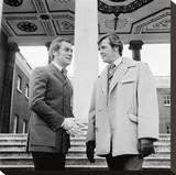 The Persuaders Stretched Canvas Print