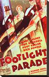 Footlight Parade Stretched Canvas Print