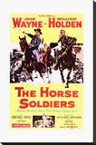 The Horse Soldiers Stretched Canvas Print