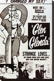 Glen or Glenda Stretched Canvas Print
