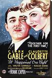 It Happened One Night Stretched Canvas Print