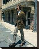 Clint Eastwood - Dirty Harry Stretched Canvas Print