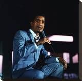 Sammy Davis Jr. Stretched Canvas Print