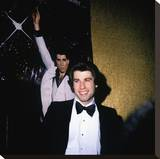John Travolta Stretched Canvas Print