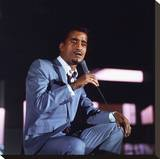 Sammy Davis Stretched Canvas Print