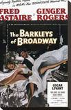 The Barkleys of Broadway Stretched Canvas Print