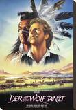 Dances with Wolves Stretched Canvas Print