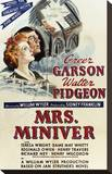 Mrs. Miniver Stretched Canvas Print