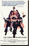 The Three Musketeers Stretched Canvas Print