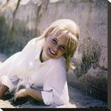 Sue Lyon Stretched Canvas Print